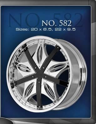 Wheels - Gino Wheel Sets - Gino - Gino 582