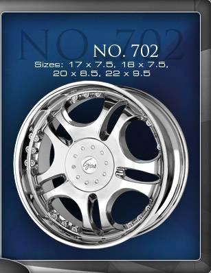 Wheels - Gino Wheel Sets - Gino - Gino 702