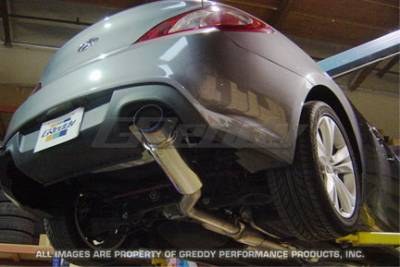 Greddy - Hyundai Genesis Greddy Racing Ti-C Catback Exhaust System - 10107900