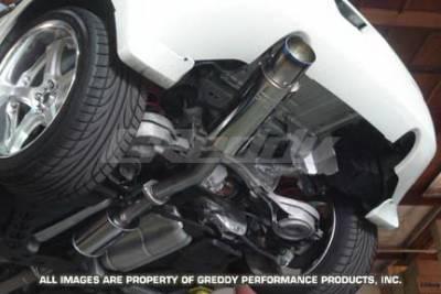 Exhaust - Greddy - Greddy - Nissan 350Z Greddy Racing Ti-C Catback Exhaust System - 10127902