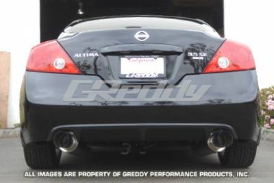 Exhaust - Greddy - Greddy - Nissan Altima Greddy Racing Ti-C Catback Exhaust System with Dual Mufflers - 10127909