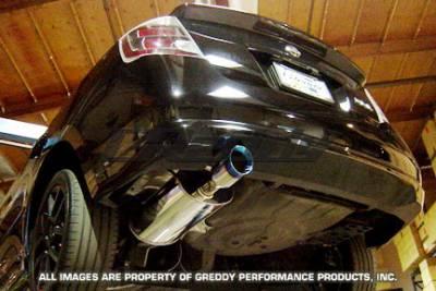 Exhaust - Greddy - Greddy - Nissan Sentra Greddy Spectrum Elite Exhaust System - 10127958