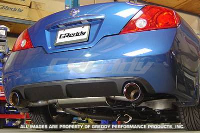 Exhaust - Greddy - Greddy - Nissan Altima Greddy Spectrum Elite Exhaust System - 10127959