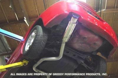 Exhaust - Greddy - Greddy - Mitsubishi Eclipse Greddy Racing Ti-C Catback Exhaust System - 10137904