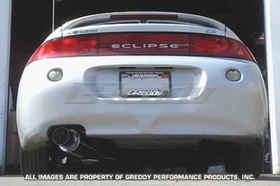Exhaust - Greddy - Greddy - Mitsubishi Eclipse Greddy Racing Ti-C Catback Exhaust System - 10137905