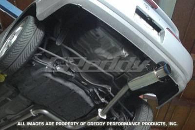 Exhaust - Greddy - Greddy - Honda Prelude Greddy Racing Ti-C Catback Exhaust System - 10157909