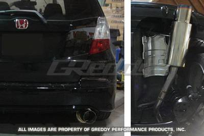 Greddy - Honda Fit Greddy Racing Ti-C Catback Exhaust System - 10157919