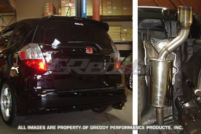 Greddy - Honda Fit Greddy Spectrum Elite Exhaust System - 10157966