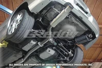 Exhaust - Greddy - Greddy - Subaru WRX Greddy Racing Ti-C Catback Exhaust System - 10167900