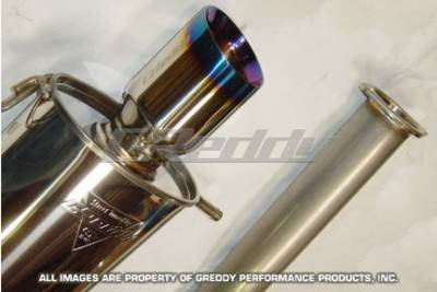 Exhaust - Greddy - Greddy - Subaru WRX Greddy Spectrum Elite Exhaust System - 10167950