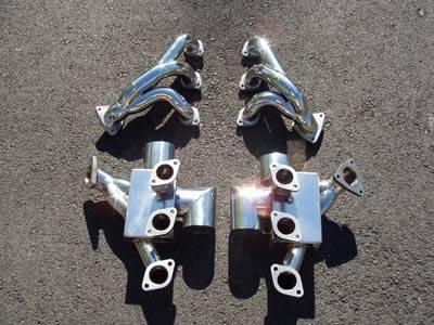 Exhaust - Headers - FabSpeed - Sport Headers with Heat