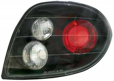 Headlights & Tail Lights - Led Tail Lights - In Pro Carwear - Hyundai Tiburon In Pro Carwear Crystal Taillights - CWT-1201B2