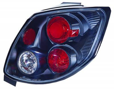 Headlights & Tail Lights - LED Tail Lights - In Pro Carwear - Volkswagen Golf GTI In Pro Carwear Crystal Taillights - CWT-1503B2
