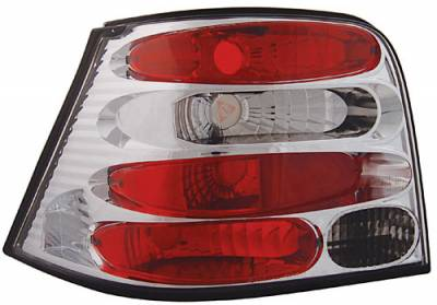 Headlights & Tail Lights - LED Tail Lights - In Pro Carwear - Volkswagen Golf GTI In Pro Carwear Crystal Taillights - CWT-1503C2
