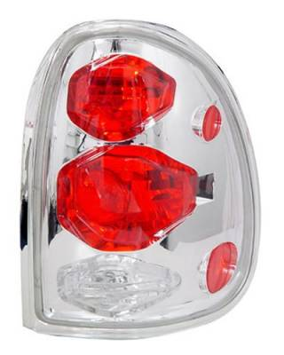 Headlights & Tail Lights - Led Tail Lights - In Pro Carwear - Dodge Caravan In Pro Carwear Crystal Taillights - CWT-CE405C