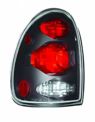Headlights & Tail Lights - Led Tail Lights - In Pro Carwear - Plymouth Voyager In Pro Carwear Crystal Taillights - CWT-CE405CB