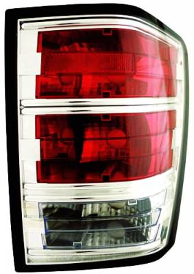 Headlights & Tail Lights - Led Tail Lights - In Pro Carwear - Jeep Grand Cherokee IPCW Taillights - LED - 1 Pair - CWT-CE5005C