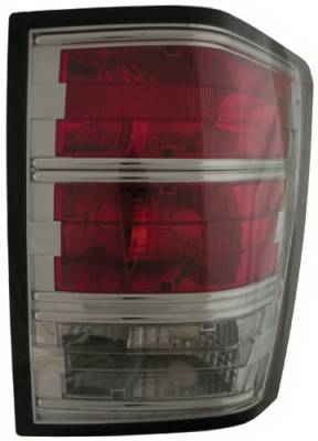 Headlights & Tail Lights - Led Tail Lights - In Pro Carwear - Jeep Grand Cherokee IPCW Taillights - LED - 1 Pair - CWT-CE5005CS