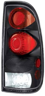 Headlights & Tail Lights - LED Tail Lights - In Pro Carwear - Ford Superduty In Pro Carwear Crystal Taillights - CWT-CE561CB