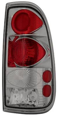 Headlights & Tail Lights - LED Tail Lights - In Pro Carwear - Ford Superduty In Pro Carwear Crystal Taillights - CWT-CE561CS
