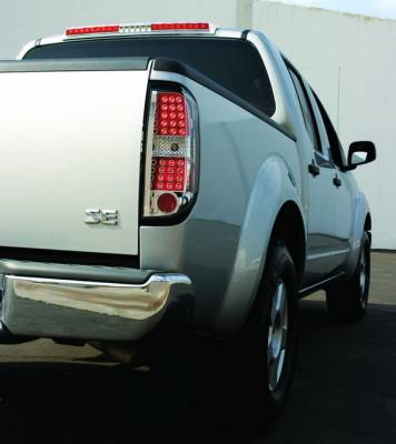 Headlights & Tail Lights - Led Tail Lights - In Pro Carwear - Nissan Frontier IPCW Taillights - LED - 1 Pair - LEDT-1009C