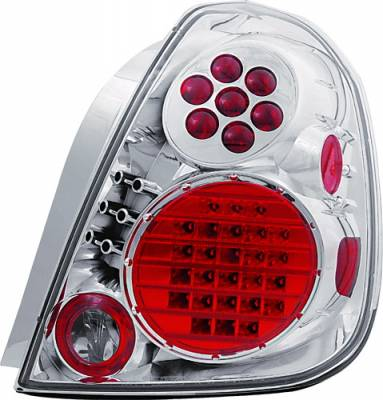 Headlights & Tail Lights - LED Tail Lights - In Pro Carwear - Nissan Altima IPCW Taillights - Crystal Eyes - 1 Pair - LEDT-1111C