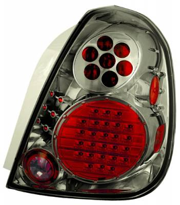 Headlights & Tail Lights - LED Tail Lights - In Pro Carwear - Nissan Altima IPCW Taillights - Crystal Eyes - 1 Pair - LEDT-1111CS