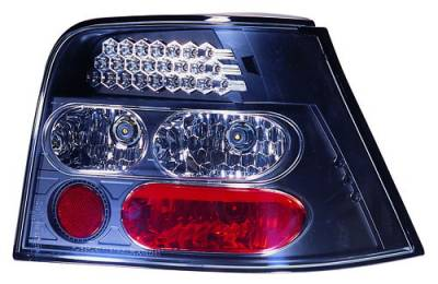 Headlights & Tail Lights - Led Tail Lights - In Pro Carwear - Volkswagen Golf IPCW Taillights - LED - 1 Pair - LEDT-1502B2