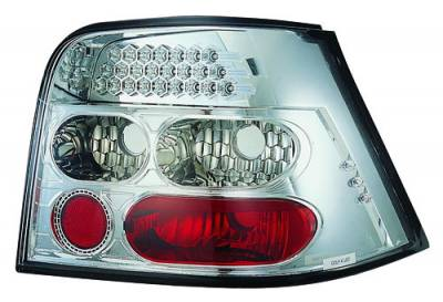 Headlights & Tail Lights - Led Tail Lights - In Pro Carwear - Volkswagen Golf IPCW Taillights - LED - 1 Pair - LEDT-1502C2