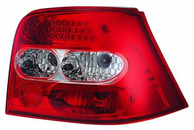 Headlights & Tail Lights - Led Tail Lights - In Pro Carwear - Volkswagen Golf IPCW Taillights - LED - 1 Pair - LEDT-1502R2