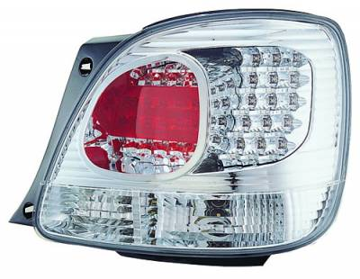 Headlights & Tail Lights - Led Tail Lights - In Pro Carwear - Lexus GS IPCW Taillights - LED - Outer - Outer - 2PC - LEDT-2028C2