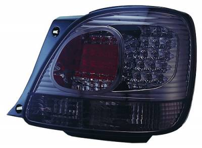 Headlights & Tail Lights - Led Tail Lights - In Pro Carwear - Lexus GS IPCW Taillights - LED - Outer - Outer - 2PC - LEDT-2028S2
