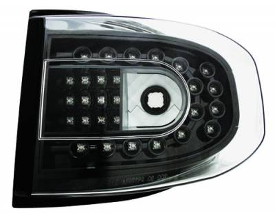 Headlights & Tail Lights - Led Tail Lights - In Pro Carwear - Toyota FJ Cruiser IPCW Taillights - LED - 1 Pair - LEDT-2038CB
