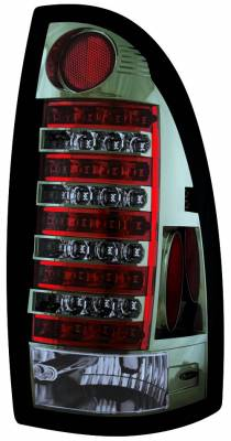 Headlights & Tail Lights - Led Tail Lights - In Pro Carwear - Toyota Tacoma IPCW Taillights - LED - 1 Pair - LEDT-2040CS