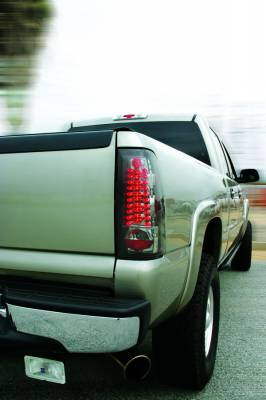 Headlights & Tail Lights - Led Tail Lights - In Pro Carwear - Chevrolet Silverado IPCW Taillights - LED - 1 Pair - LEDT-3039C