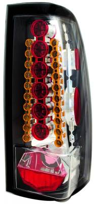 Headlights & Tail Lights - Led Tail Lights - In Pro Carwear - Chevrolet Silverado IPCW Taillights - LED - 1 Pair - LEDT-3039CA
