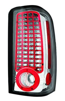 Headlights & Tail Lights - Led Tail Lights - In Pro Carwear - Chevrolet Suburban IPCW Taillights - LED - 1 Pair - LEDT-304C