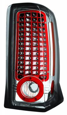 Headlights & Tail Lights - Led Tail Lights - In Pro Carwear - Cadillac Escalade IPCW Taillights - LED - 1 Pair - LEDT-305C