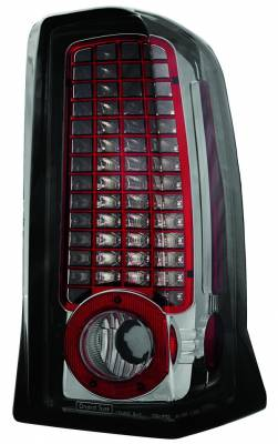 Headlights & Tail Lights - Led Tail Lights - In Pro Carwear - Cadillac Escalade IPCW Taillights - LED - 1 Pair - LEDT-305CS
