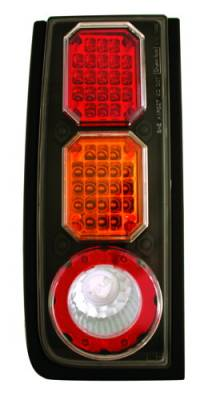 Headlights & Tail Lights - Led Tail Lights - In Pro Carwear - Hummer H2 IPCW Taillights - LED - 1 Pair - LEDT-343BA