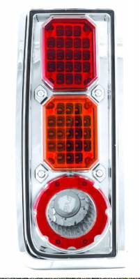 Headlights & Tail Lights - Led Tail Lights - In Pro Carwear - Hummer H2 IPCW Taillights - LED - 1 Pair - LEDT-343CA