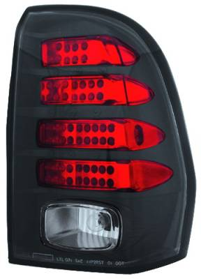 Headlights & Tail Lights - LED Tail Lights - In Pro Carwear - Chevrolet Trail Blazer IPCW Taillights - LED - 1 Pair - LEDT-345CB