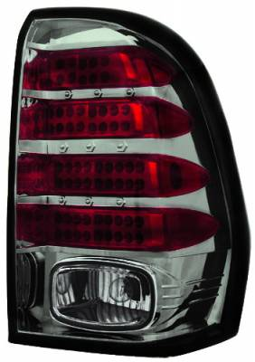 Headlights & Tail Lights - LED Tail Lights - In Pro Carwear - Chevrolet Trail Blazer IPCW Taillights - LED - 1 Pair - LEDT-345CS