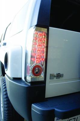 Headlights & Tail Lights - LED Tail Lights - In Pro Carwear - Hummer H3 IPCW Taillights - LED - 1 Pair - LEDT-346C