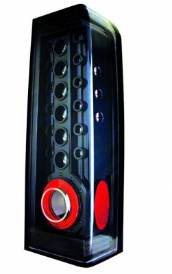 Headlights & Tail Lights - LED Tail Lights - In Pro Carwear - Hummer H3 IPCW Taillights - LED - 1 Pair - LEDT-346CB