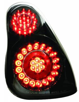 Headlights & Tail Lights - Led Tail Lights - In Pro Carwear - Chevrolet Monte Carlo IPCW Taillights - LED - 1 Pair - LEDT-348CB