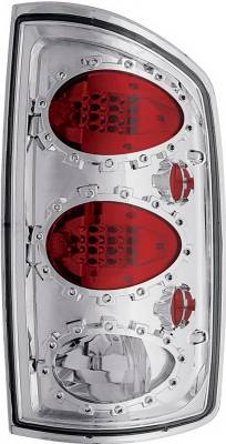 Headlights & Tail Lights - Led Tail Lights - In Pro Carwear - Dodge Ram IPCW Taillights - LED - 1 Pair - LEDT-408C