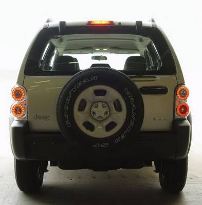 Headlights & Tail Lights - LED Tail Lights - In Pro Carwear - Jeep Liberty IPCW Taillights - LED - 1 Pair - LEDT-410C