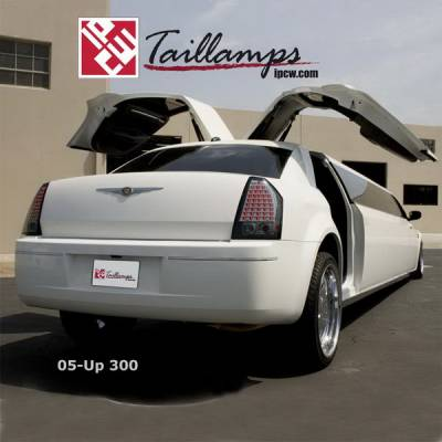 Headlights & Tail Lights - Led Tail Lights - In Pro Carwear - Chrysler 300 IPCW Taillights - LED - 1 Pair - LEDT-411XS