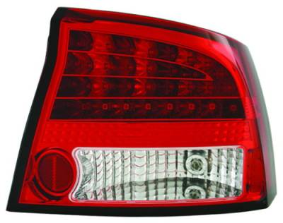 Headlights & Tail Lights - Led Tail Lights - In Pro Carwear - Dodge Charger IPCW Taillights - LED - 1 Pair - LEDT-416R2